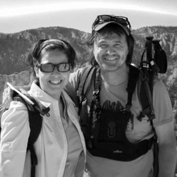 Nathalie et Olivier à Bryce Canyon