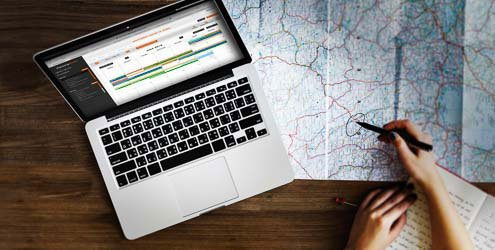 Preparing a trip with the Web Planning Motion application