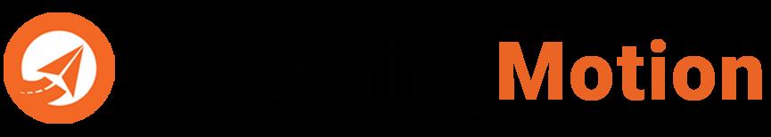 Logo du planificateur et gestionnaire de voyage Planning Motion